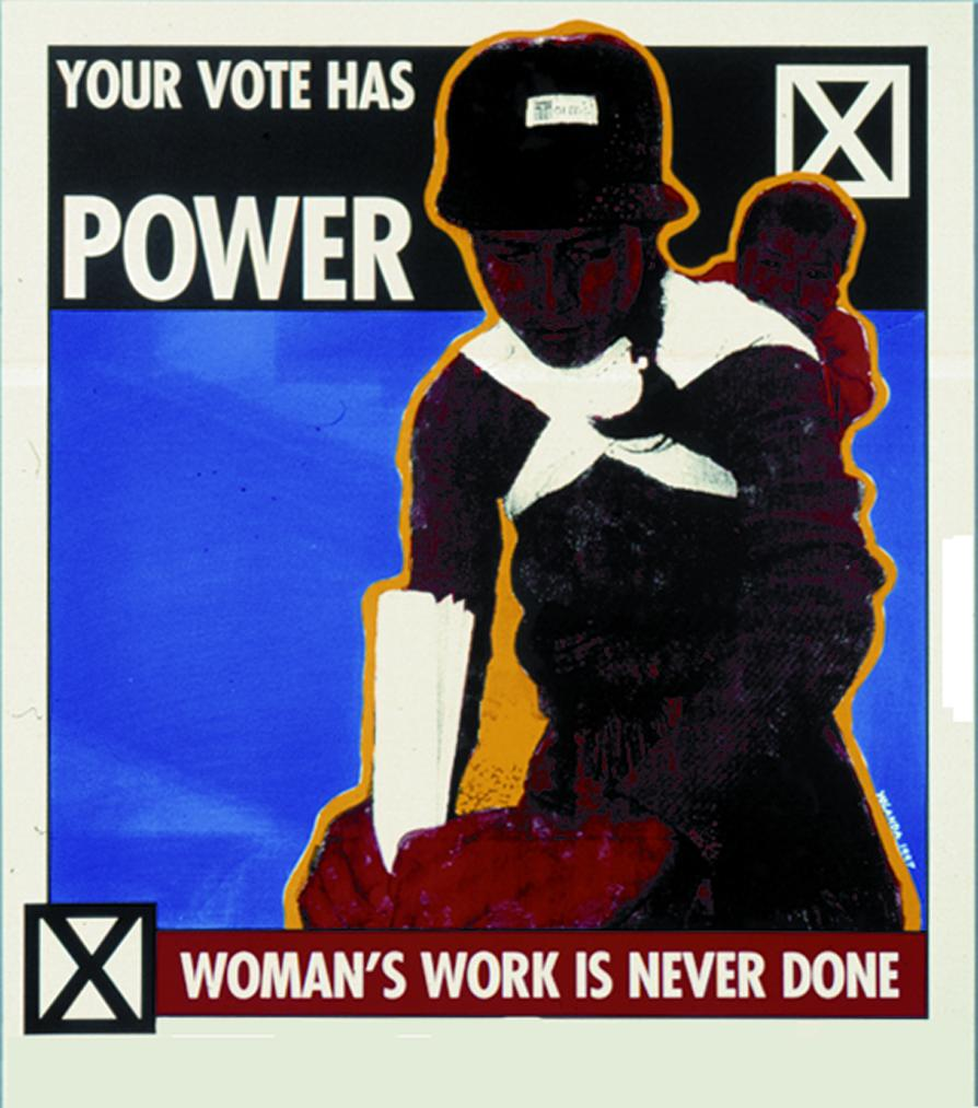 Yolanda M. Lopez, Your Vote Has Power (2007)