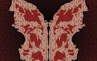 Parastou Forouhar, Ashura Butterfly (2010)