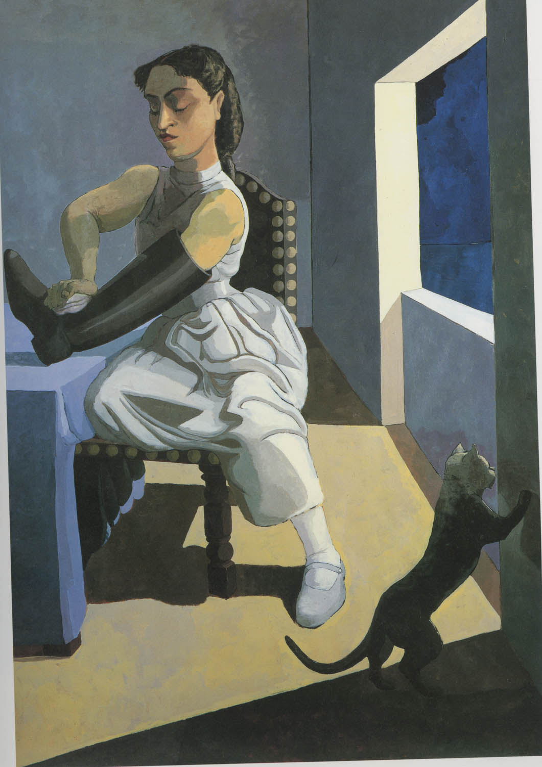 Paula Rego, The Policeman's Daughter