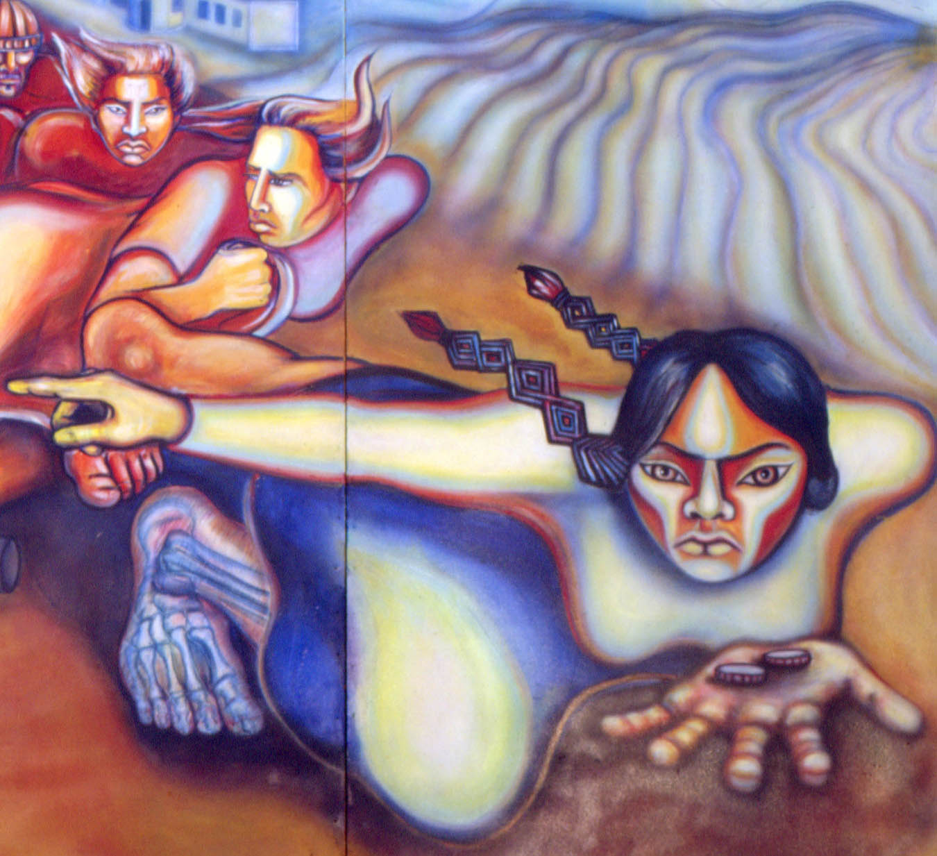 Judith F. Baca, Uprising of the Mujeres (1979)