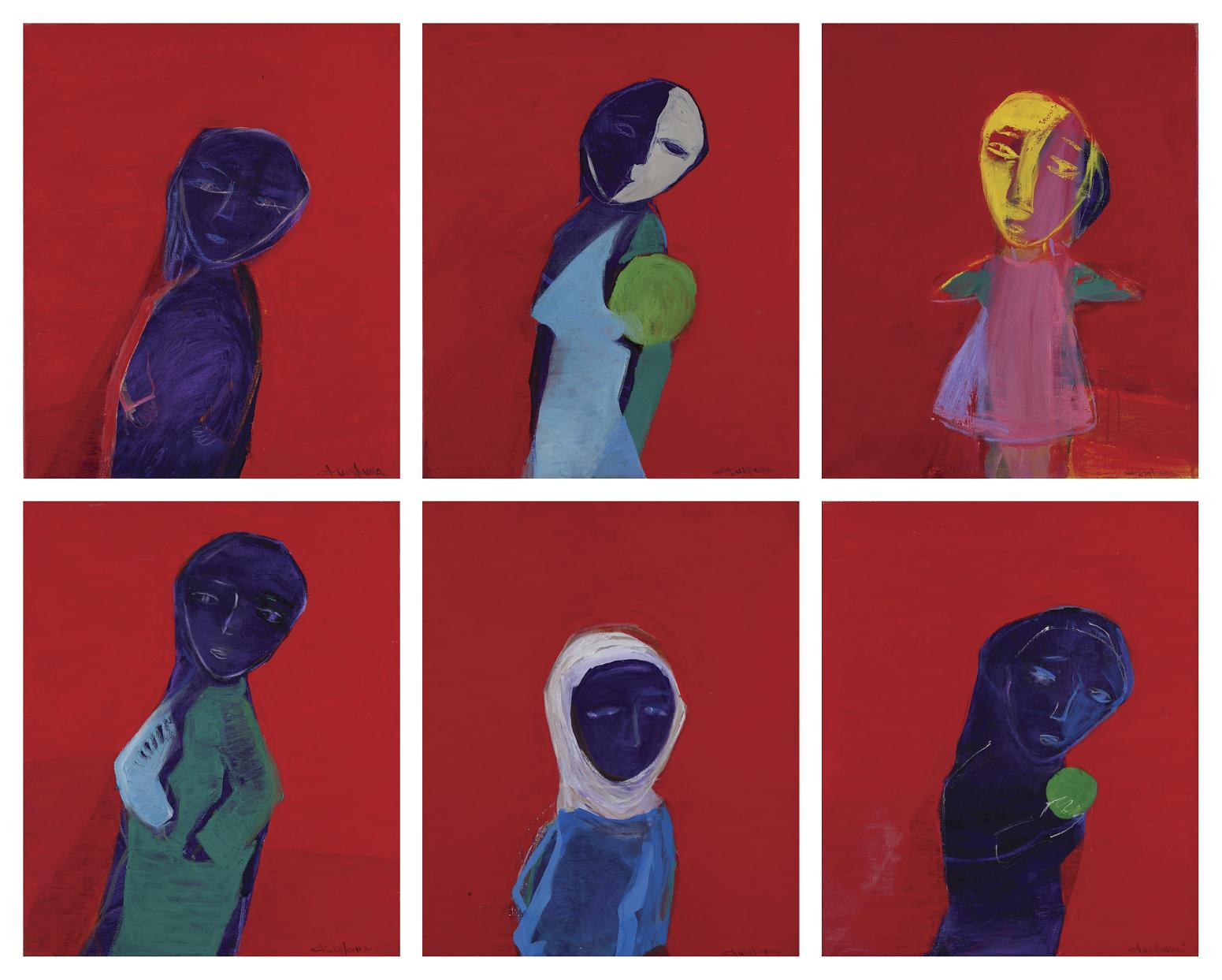 Elena Figurina - Composition (2002; detail)