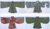 Peng Wei, Robe Series, ink painting (2002-2012),