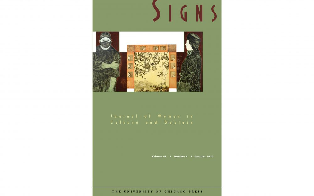 signs journal of women in culture and society   recent issues